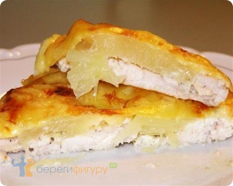 Куриное филе с ананасами в духовке рецепт