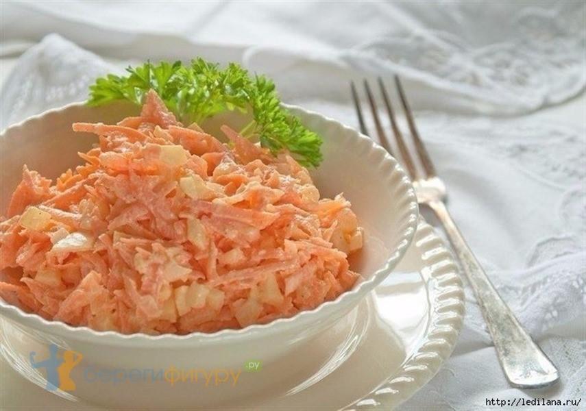 салаты с чесноком рецепты с фото