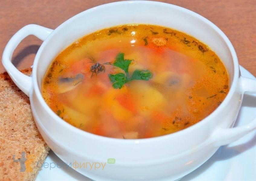 чечевичный суп с грудкой рецепт с калорийностью